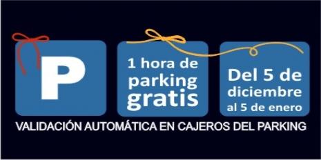 1 HORA DE PARKING GRATIS EN NUEVOCENTRO