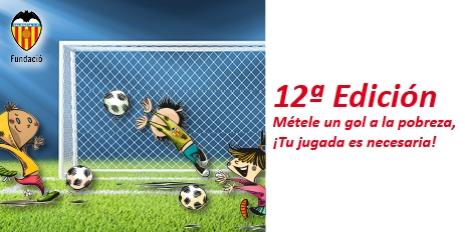 12ª Edición Métele un gol a la pobreza, ¡Tu jugada es necesaria!