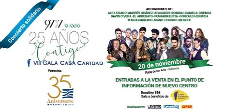 97.7 LA RADIO. - 25 AÑOS CONTIGO - VII GALA CASA CARIDAD