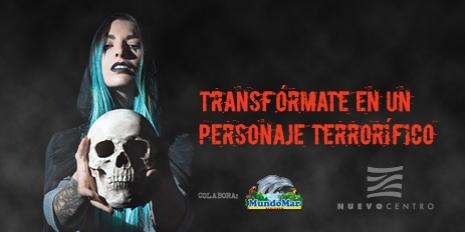 TRANSFÓRMATE EN UN PERSONAJE TERRORÍFICO