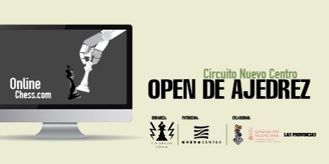 OPEN DE AJEDREZ. Circuito Nuevo Centro