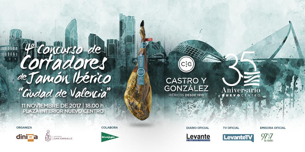 """4º Concurso de Cortadores de Jamón Ibérico! """"Ciudad de Valencia""""!"""